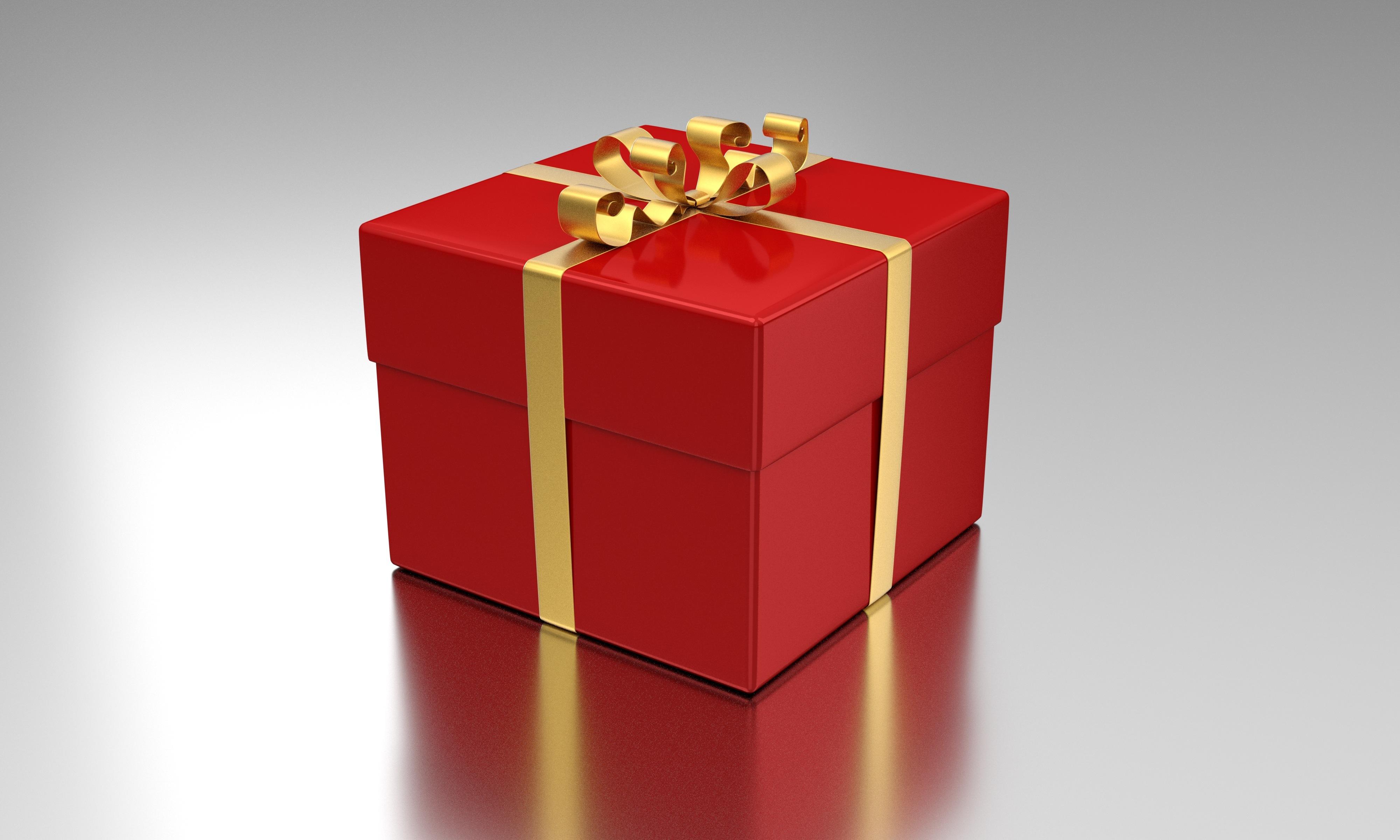 Paket som skickas vid högtider